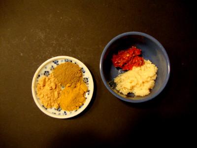 specerijen nasi met kip