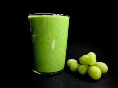 smoothie spinazie komkommer druif