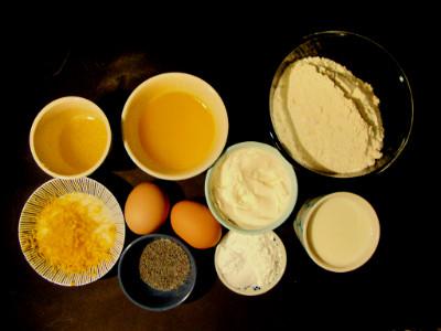 wafels citroen ricotta maanzaad ingrediënten