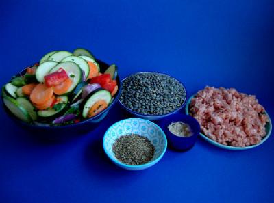 MM - linzen met groenten gehakt ingrediënten
