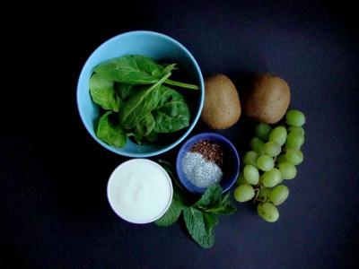 geweldige groene smoothie ingrediënten