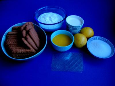 griekse yoghurt cheesecake - ingrediënten
