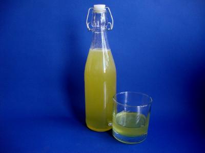 limoncello in fles