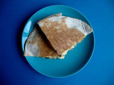 quesedilla's geserveerd