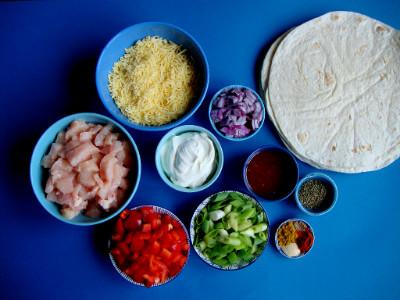 quesedilla's ingrediënten